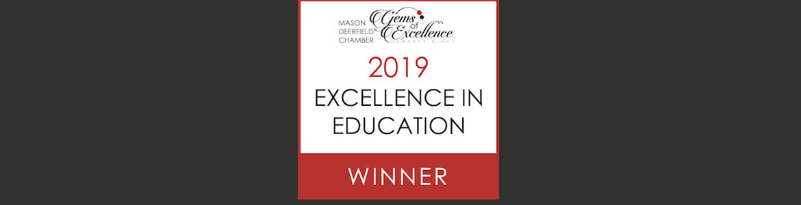 2019 Excellence in Education WINNER!