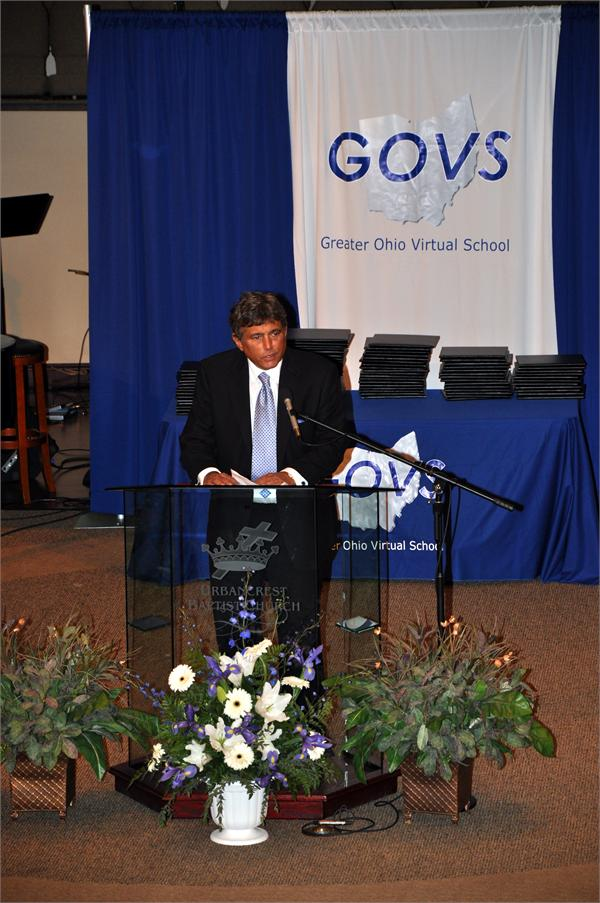 Photo of Warren County Educational Service Center Superintendent John Lazarus