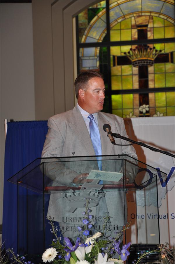 Photo of Warren County Educational Service Center Superintendent Tom Issacs